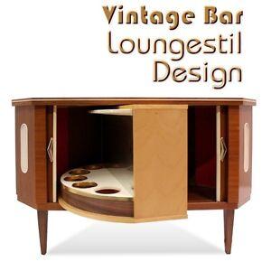 vintage schiebet r bar drehbare geheimbar b cherschrank. Black Bedroom Furniture Sets. Home Design Ideas