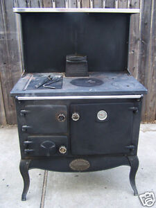 Vintage Stanley Waterford Ireland Wood Burning Cook Stove