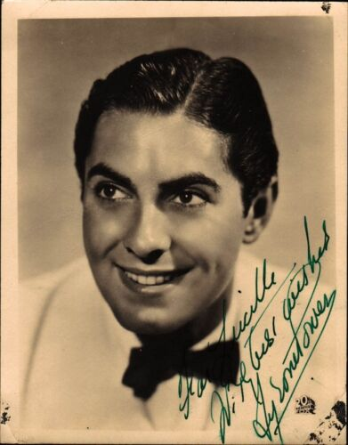 Vintage TYRONE POWER Signed Photo in Entertainment Memorabilia, Autographs-Original, Movies | eBay