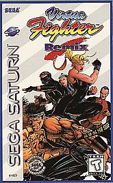 Virtua Fighter Remix  (Sega Saturn, 1995...