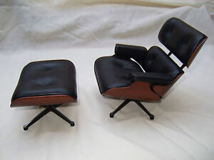 details about vitra eames miniature lounge chair ottoman nib