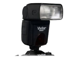 Vivitar DF-283 Shoe Mount Flash for Mult...