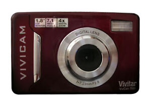 Vivitar ViviCam 7020 7.1 MP Digital Came...