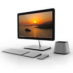"Vizio All-In-One CA27-A0 27"" Desktop PC Intel Core i3 3110M(2.40GHz) 4GB DDR3 1T in Computers/Tablets & Networking, Desktops & All-In-Ones, PC Desktops & All-In-Ones 