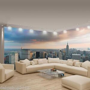 vlies fototapete fototapeten eckfototapete tapete f r die ecke new york 448 ve ebay. Black Bedroom Furniture Sets. Home Design Ideas