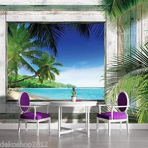 vlies fototapete fototapeten tapeten tapete foto palmen. Black Bedroom Furniture Sets. Home Design Ideas