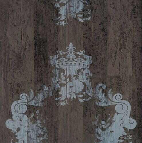 bn wallcoverings vlies tapete 46522 antik holz ornament braun grau royal wood design elements. Black Bedroom Furniture Sets. Home Design Ideas