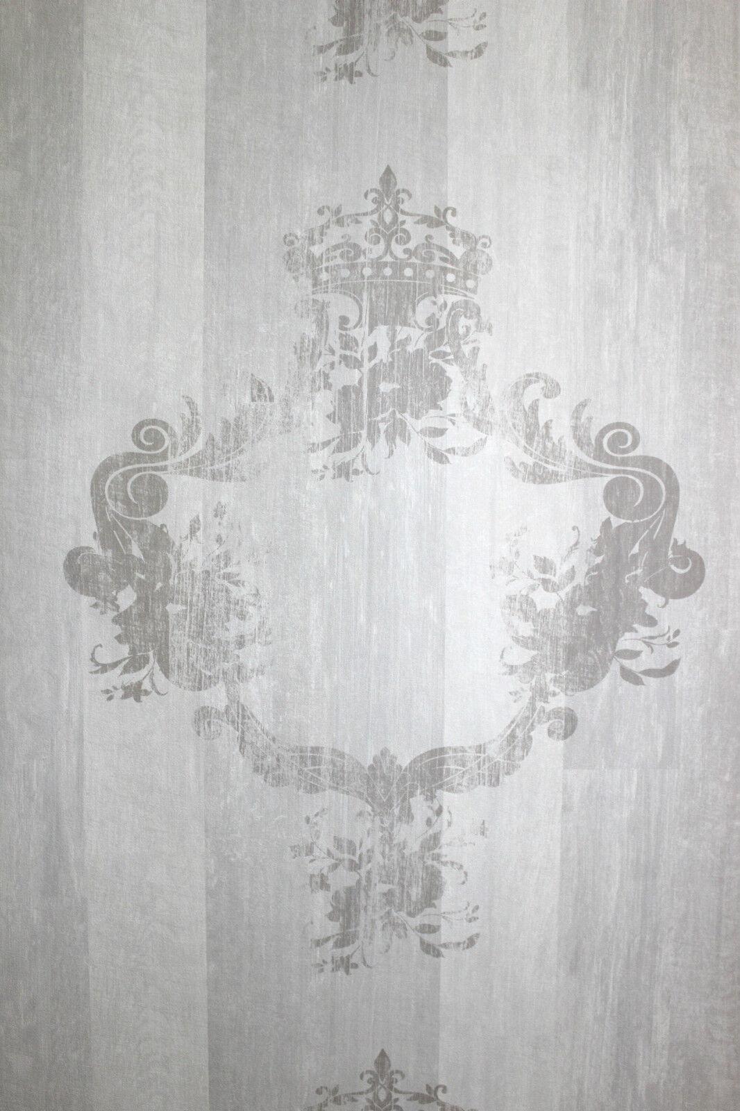 bn wallcoverings vlies tapete 46524 antik holz ornament. Black Bedroom Furniture Sets. Home Design Ideas