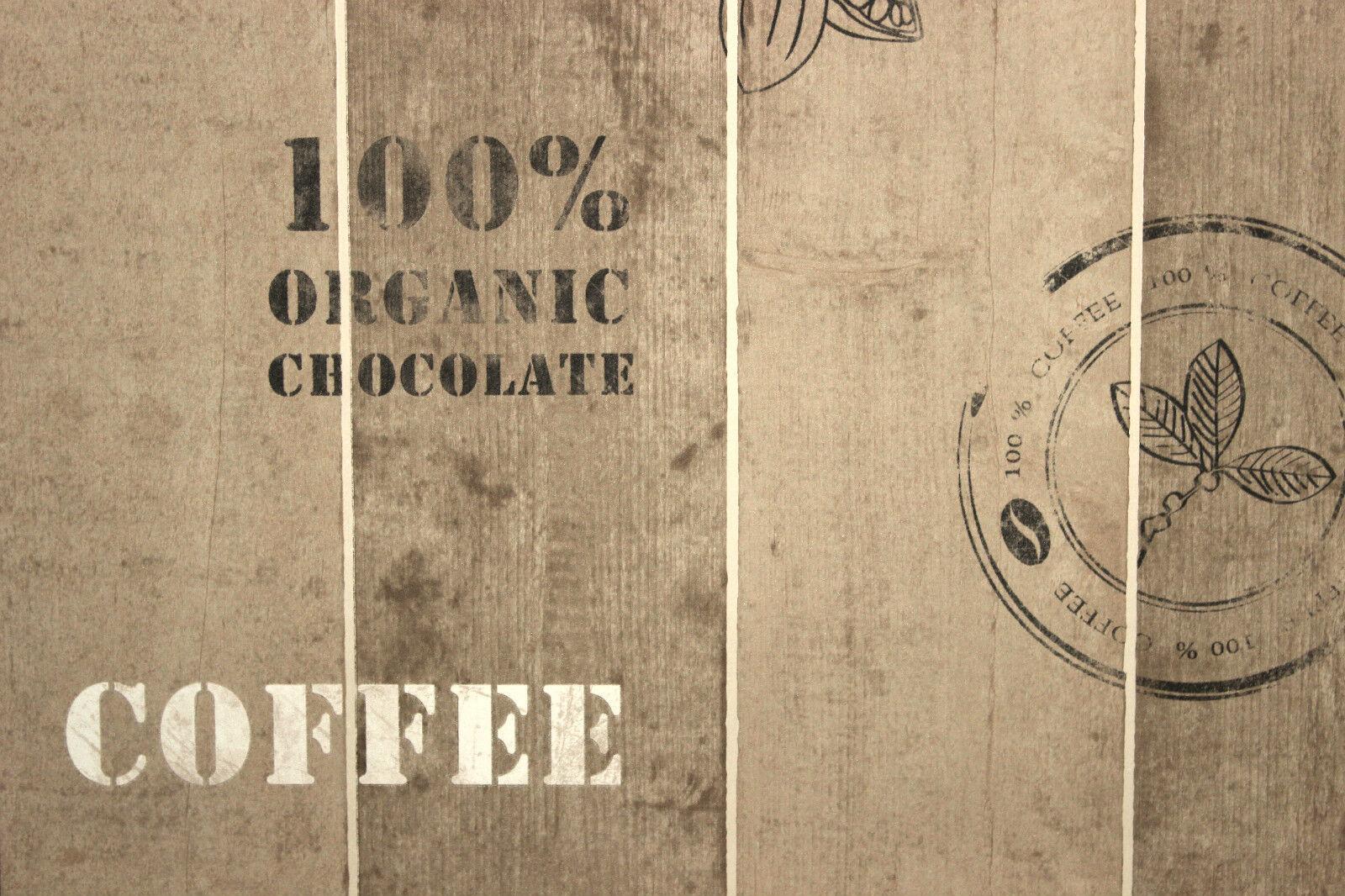 as creation vlies tapete kaffee kakao 8845 10 holz braun. Black Bedroom Furniture Sets. Home Design Ideas