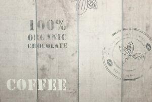vlies tapete kaffee kakao 8845 34 holz grau toop k che. Black Bedroom Furniture Sets. Home Design Ideas