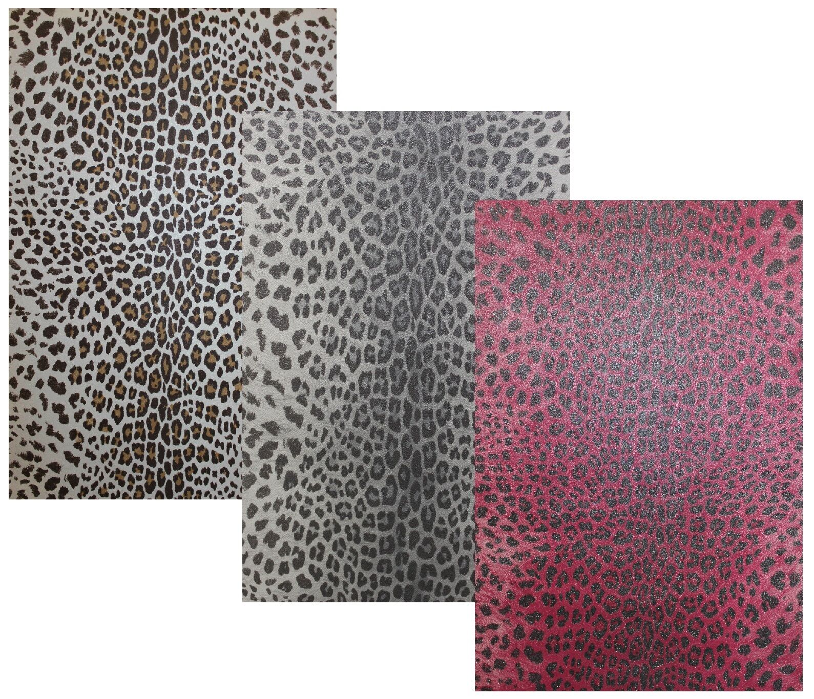 vlies tapete leoparden optik fell braun weiss beige grau silber pink arfika stil ebay. Black Bedroom Furniture Sets. Home Design Ideas