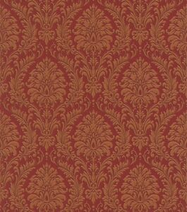 vlies tapete trianon 512878 rasch barock retro ornament elegant edel braun rot ebay. Black Bedroom Furniture Sets. Home Design Ideas