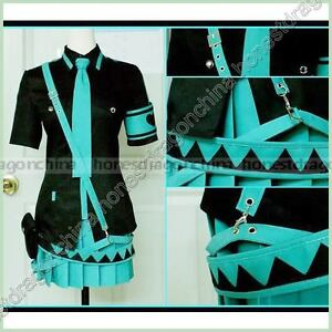 Vocaloid-Hatsune-Miku-Cosplay-Kostuem-Rock-Kleid-01