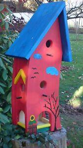 vogelhaus nistkasten futterhaus f r meisen sperlinge finken usw ebay. Black Bedroom Furniture Sets. Home Design Ideas