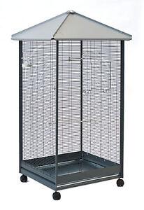 vogelvoliere vogelk fig f r kanarien wellensittich exoten voliere k fig xl ebay. Black Bedroom Furniture Sets. Home Design Ideas