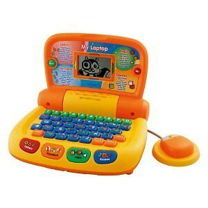 vtech my first laptop baby toy new ebay. Black Bedroom Furniture Sets. Home Design Ideas