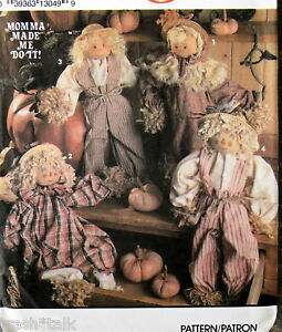Primitive Halloween Patterns, Primitve Halloween Doll Patterns