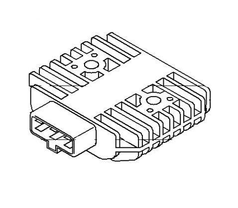 Vulcan 750 Voltage Regulator Rectifier Kawasaki VN 750 21066 1089 1995 2006