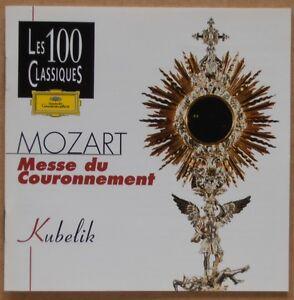 W.A. Mozart - Messe du Couronnement - Rafael Kubelik- CD - Deutschland - Widerrufsrecht für Verbraucher (Verbraucher ist jede natürliche Person, die ein Rechtsgeschäft zu Zwecken abschließt, die überwiegend weder Ihrer gewerblichen noch ihrer selbstständigen beruflichen Tätigkeit zugerechnet werden können - Deutschland