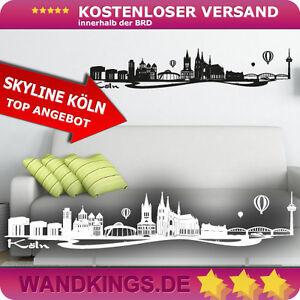 WANDKINGS-Wandtattoo-Skyline-Koeln-Koelner-Dom-Groesse-Farbe-waehlbar