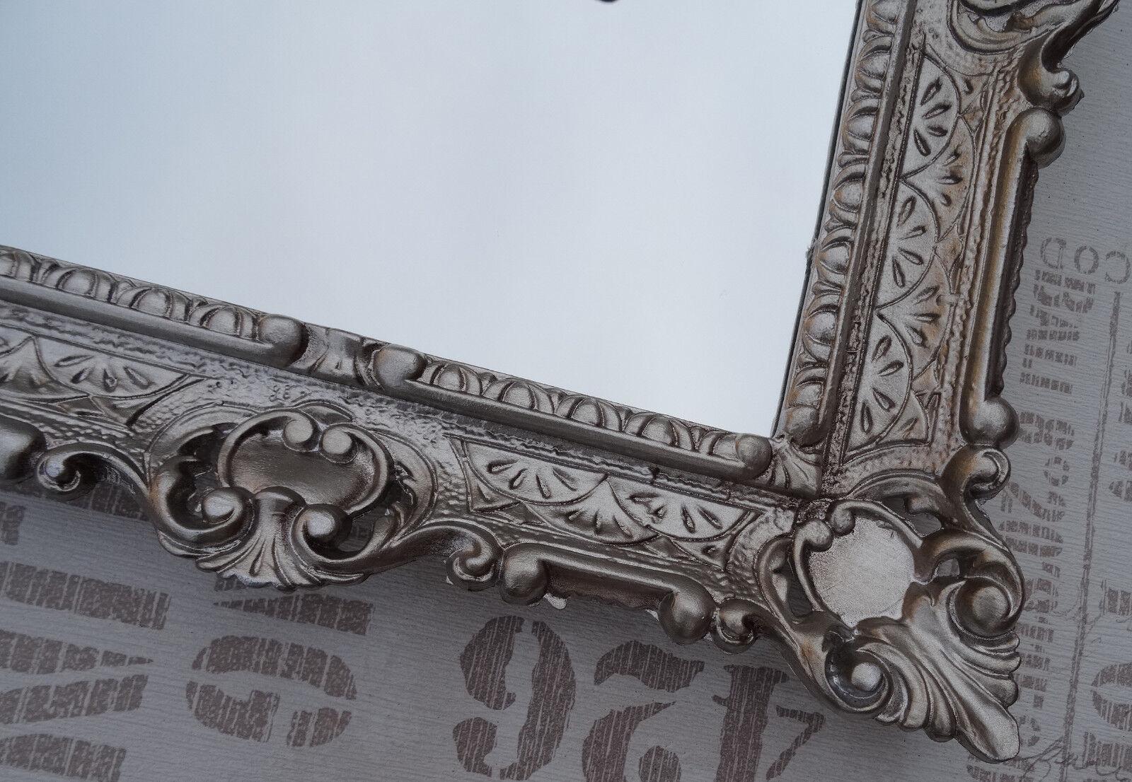 Wall mirror antique baroque repro bathroom floor vanity for Baroque style bathroom