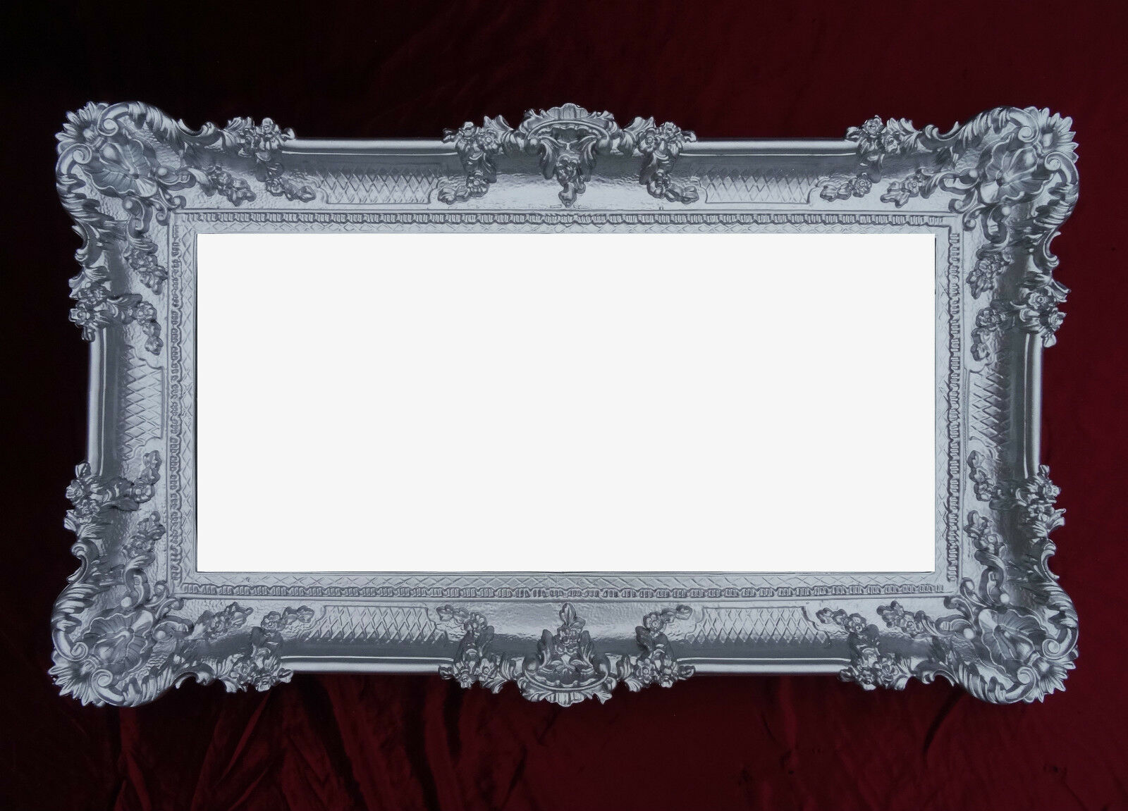 baroque wall mirror black gold mirror wall deco deco 97x57 antique big ebay. Black Bedroom Furniture Sets. Home Design Ideas