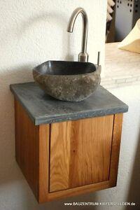 waschtisch granit waschbecken flu stein marmor holz eiche. Black Bedroom Furniture Sets. Home Design Ideas