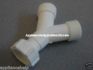 washing machine drain hose splitter
