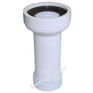 wc anschluss verbindung toilette abflu anschlussgarnitur ht rohr abfluss ablauf ebay. Black Bedroom Furniture Sets. Home Design Ideas