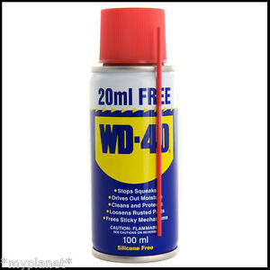 wd 40 wd40 penetrating silicone free oil maintenance lubricant spray can 100ml ebay. Black Bedroom Furniture Sets. Home Design Ideas