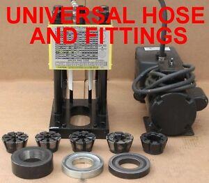 weatherhead hydraulic hose crimping machine