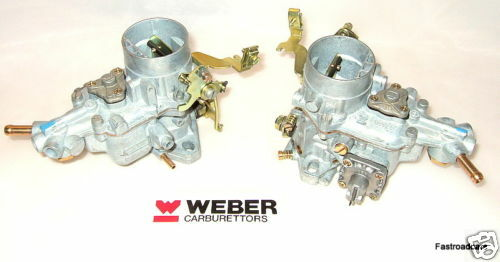 WEBER 34 ICH x2 CARBURETTORS VW AIR COOLED ENGINES