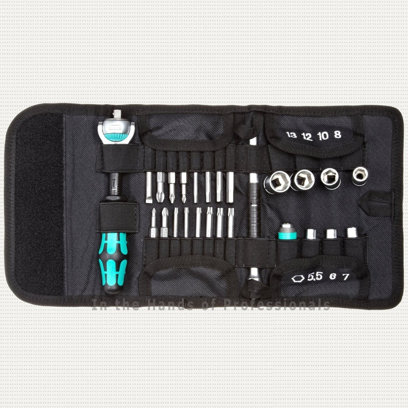 wera tools zyklop ratchet sae socket bit 26pc set w pouch 05160787001 ebay. Black Bedroom Furniture Sets. Home Design Ideas