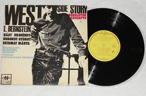 WEST-SIDE-STORY-Leonard-Bernstein-10-Vinyl-LP-Qualiton-Hungary-1967-RARE