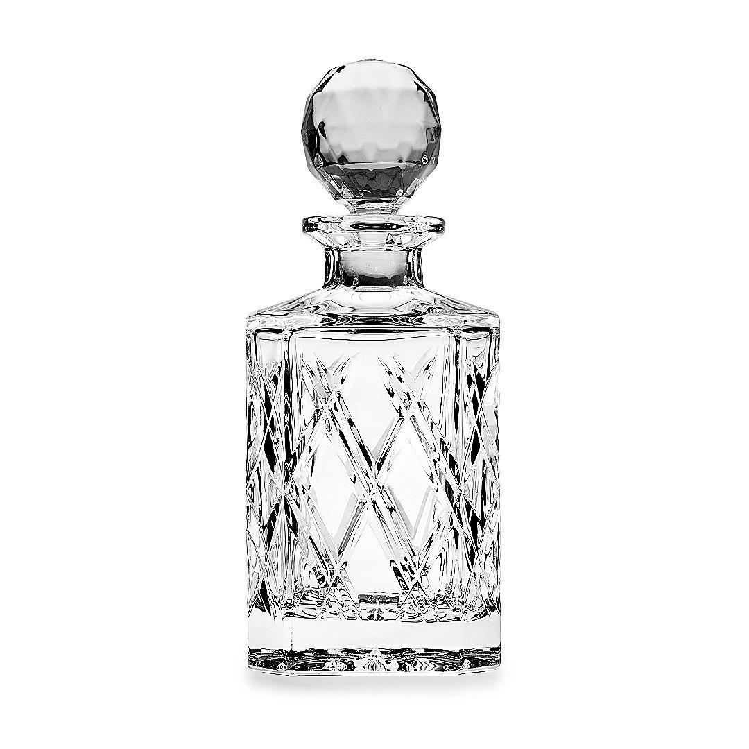 whisky karaffe 800 ml bohemia 24 pbo kristall handschliff neu ovp ebay. Black Bedroom Furniture Sets. Home Design Ideas