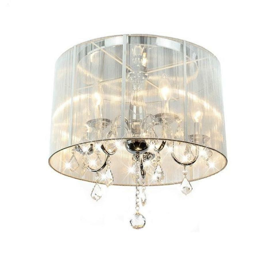 white drum shade crystal chandelier quotes