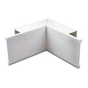 White pvc dado trunking internal angle 50mm x 100mm ebay for Fenetre pvc 50 x 60