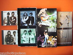 WHO-Thirty-Years-Of-Maximum-R-B-4-CD-Box-mit-Booklet-Polydor-521-751-2