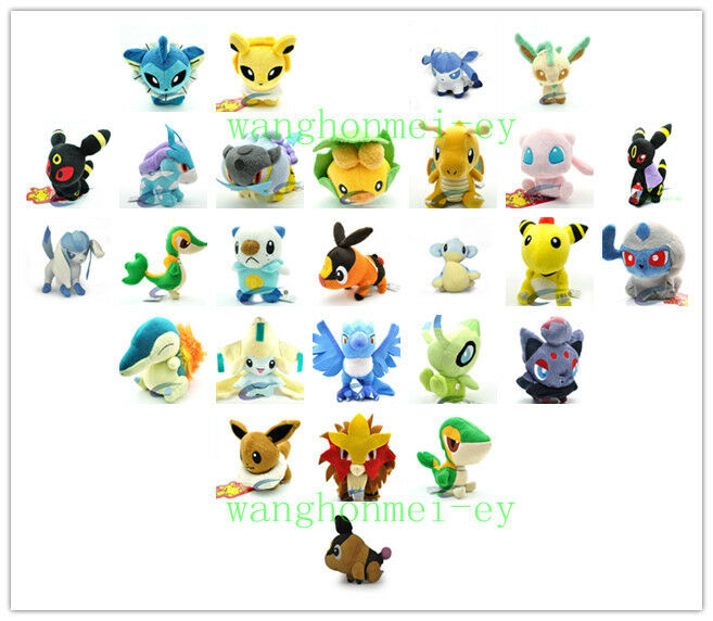 WHOLESALE A hodgepodge of New pokemon Soft Stuffed Animal Plush toy
