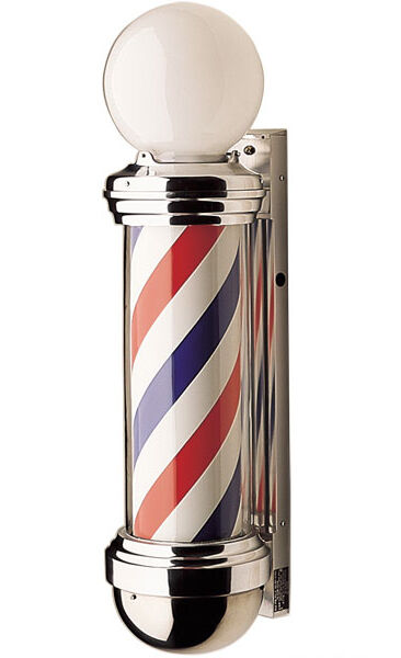 Barber pole своими руками 65