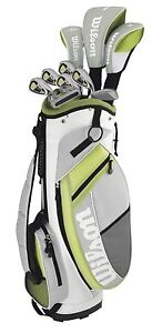 WILSON-ULTRA-Womens-Ladies-Right-Handed-Complete-Golf-Club-Set-w-Bag-WGGC81300