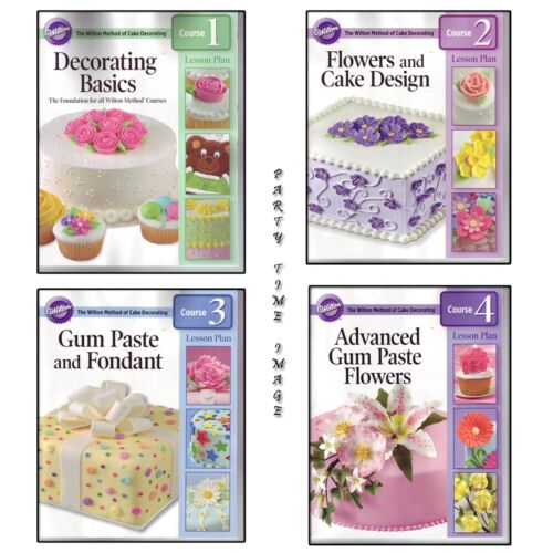 WILTON STUDENT lesson book cake DECORATING NEW 2010 in Home & Garden, Kitchen, Dining & Bar, Cake, Candy & Pastry Tools | eBay