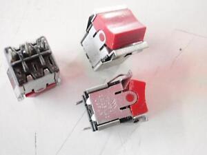 WIPPSCHALTER-rote-flache-Wippe-AN-AUS-10A-125V-Set-mit-5-Stueck-1057