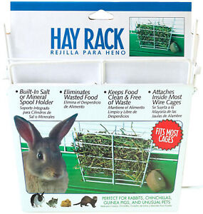 WIRE RABBIT HAY RACK CHINCHILLAS GUINEA PIG PET FEEDER! in Pet Supplies, Small Animal Supplies | eBay