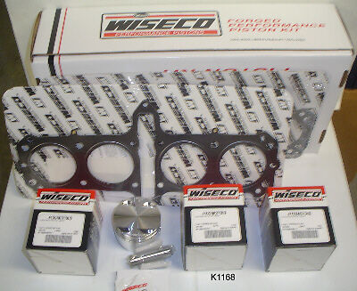 Wiseco Forged Big Bore Piston Kit CK101 1216cc Bandit GSF1200