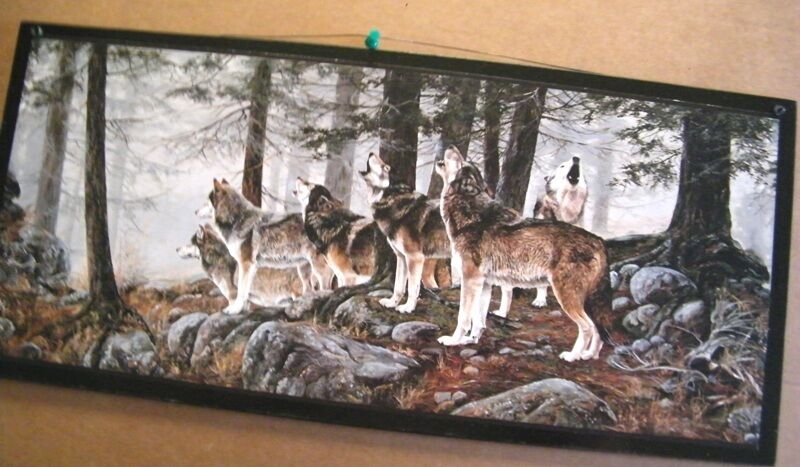 WOLF PACK~Country Home Decor WOLVES Wall Lodge SIGN