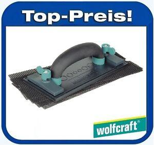 wolfcraft 8722000 rigips set schleifer gipskarton trockenbau schleifen gl tten ebay. Black Bedroom Furniture Sets. Home Design Ideas