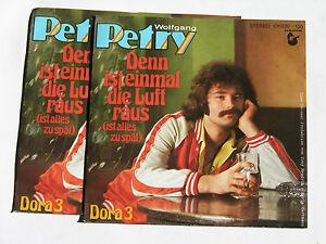 """WOLFGANG PETRY denn ist einmal die luft raus NEU! Vinyl Single 7"""" - Deutschland - WOLFGANG PETRY denn ist einmal die luft raus NEU! Vinyl Single 7"""" - Deutschland"""