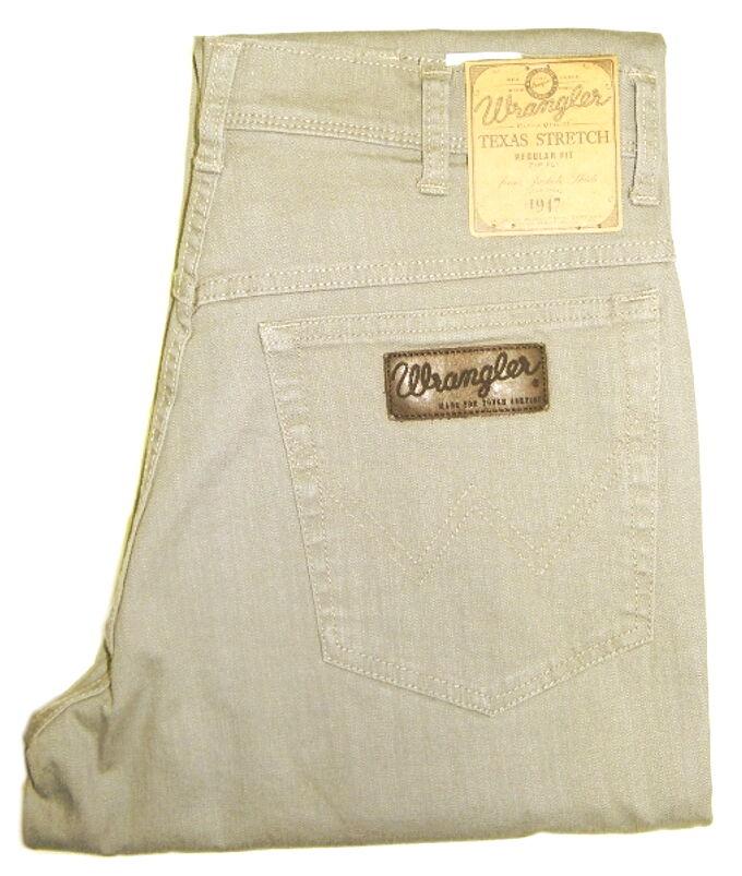 wrangler texas stretch in grau braun gr n beige blau khaki w hle aus 6 farben