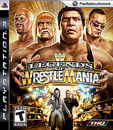 WWE Legends of WrestleMania  (Sony Plays...